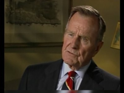 George H.W. Bush, whose presidency soared with the coalition victory over Iraq in Kuwait, but then plummeted in the throes of a weak economy that led voters to turn him out of office after one term, has died. He was 94 (Dec 1)