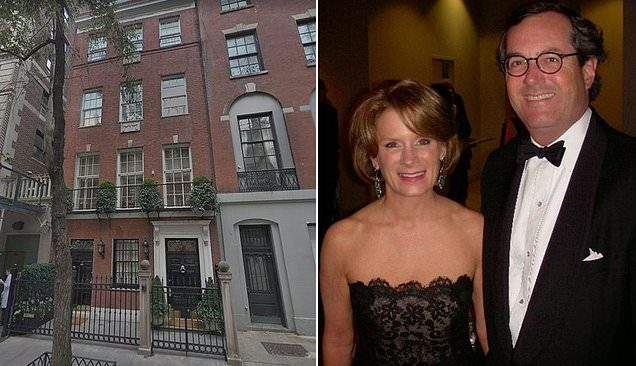 The house is owned by billionaire Warren Stephens (pictured right) and his wife Harriet (pictured left) they bought the home in 1999