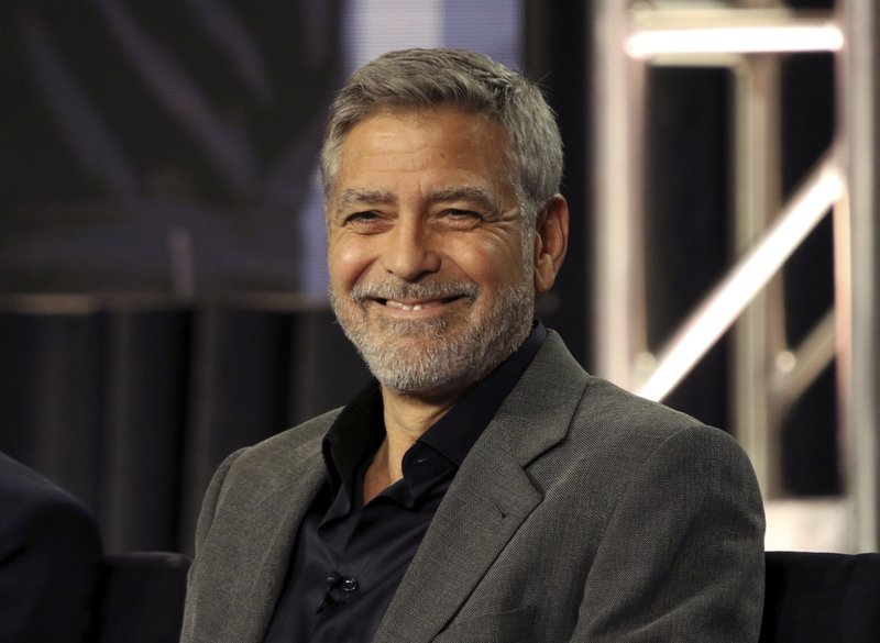 George Clooney participates in the