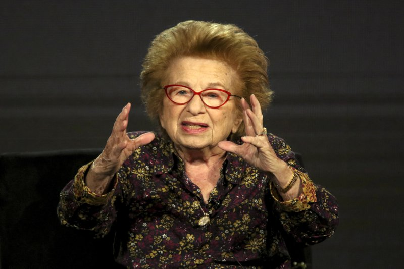 Dr. Ruth Westheimer participates in the