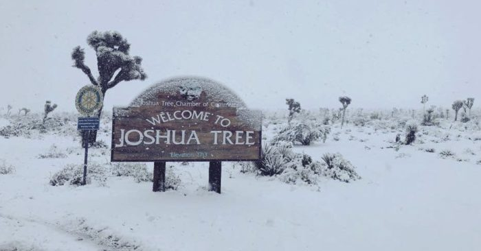 Storm Brings Snow To Low Levels In Southern California