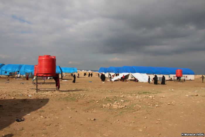 In recent days, thousands of people have arrived at al-Hol camp, growing the