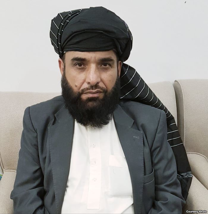 Suhail Shaheen, spokesman for the Taliban