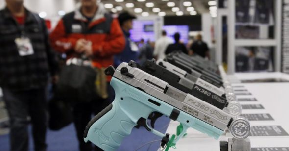 Walmart requests patrons to not carry handguns in their