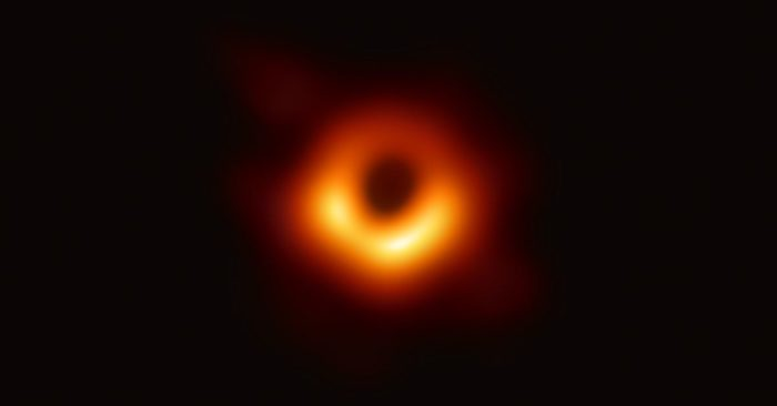 International scientific teams unveils first photo of black hole