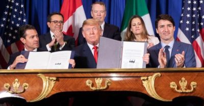 President Trump to sign USMCA into law next week, his major promise accomplishment