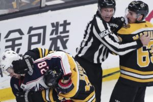 Bruins gadfly Marchand staying out of trouble (sometimes)