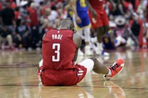 Rockets ousted from playoffs by Warriors again