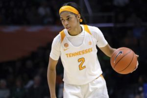 Guard Evina Westbrook leaves Tennessee for UConn women
