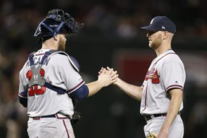 Braves release Venters 1 year after NL Comeback Player award