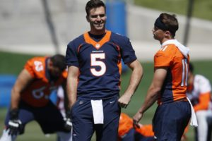 Broncos rookie Lock doesn't begrudge Flacco for his comments