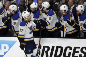 Defensive switch helps Blues even West final vs. Sharks