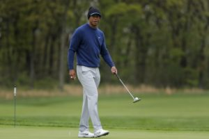Update: Tiger back at Bethpage, ready to go