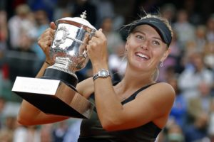 Maria Sharapova out of French Open, citing right shoulder