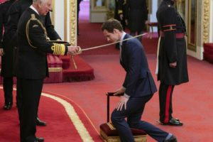Andy Murray receives knighthood from Prince Charles
