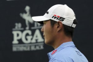 Danny Lee shoots 64, sits 2nd to Koepka after PGA 1st round