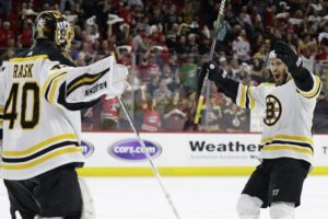 Sweep gives surging Bruins a break before Stanley Cup Final
