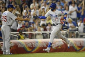 Bryant hits 3 HRs as Cubs punish Nats' bullpen in 14-6 win