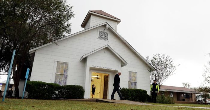Texas church opens new sanctuary after massacre