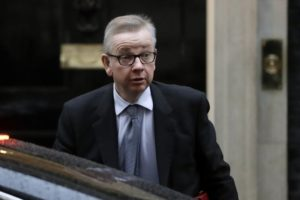 Michael Gove enters Conservative race to succeed Theresa May