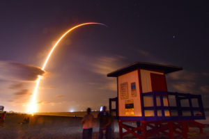 SpaceX launches 60 small satellites with plans for global internet coverage