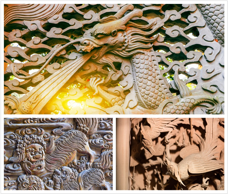 Traditional essence: Wood carving - the pinnacle of fine