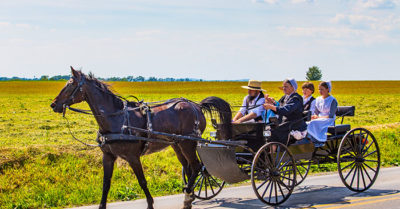 The 'primitive' but healthy lifestyle of the Amish people
