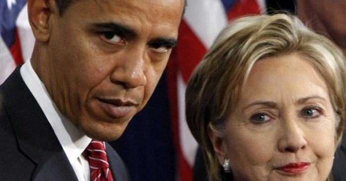 FILE - In this Dec. 1, 2008, file photo, then-President-elect Barack Obama, left, stands with then-Sen. Hillary Rodham Clinton, D-N.Y., after announcing that she is his choice as Secretary of State during a news conference in Chicago. President Barack Obama and Hillary Clinton campaign together next week for the first time this year, and their decision to meet up in Charlotte says a lot about how her campaign views her path to replace him in the White House. North Carolina is a prime spot for the party to expand into Republican territory against Donald Trump and build upon one of Obama's biggest triumphs in 2008. (AP Photo/Pablo Martinez Monsivais, File)