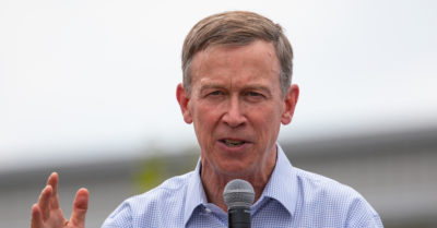 John Hickenlooper aims for Senate after exiting presidential race