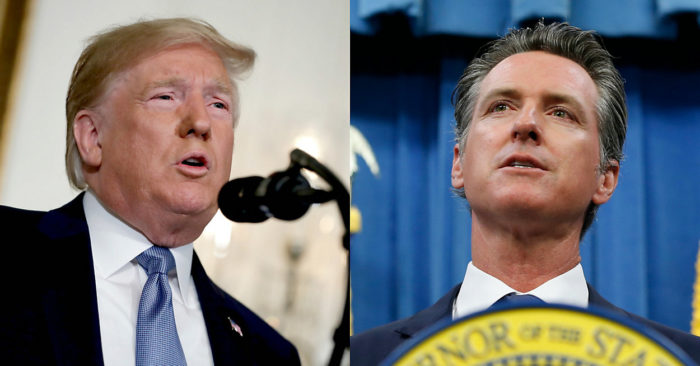 Trump bars California from setting stricter fuel standards, Gavin Newsom reacts 'See you in court'