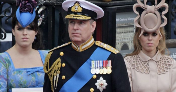 Prince Andrew of England at Westminster Abbey, April 29, 2011. (AP Photo/Gero Breloer, File)