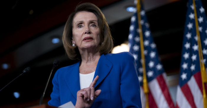 House Speaker Nancy Pelosi acknowledges, 'Trump had to do something' about China