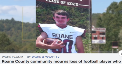 High school football player dies after collapsing during game in West Virginia