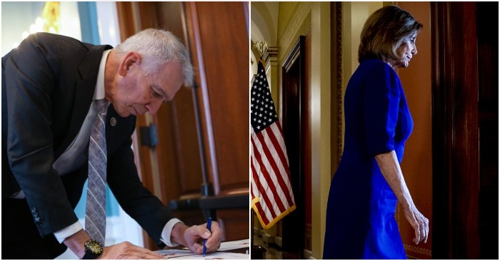 Rep. Ralph Abraham submits resolution to expel Nancy Pelosi from House for office abuse