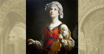 Saint Cecilia: The Patron Saint of musicians and her incorruptible body