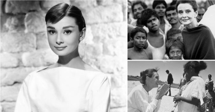 In the life of Hollywood star Audrey Hepburn, beauty and success came from a noble place
