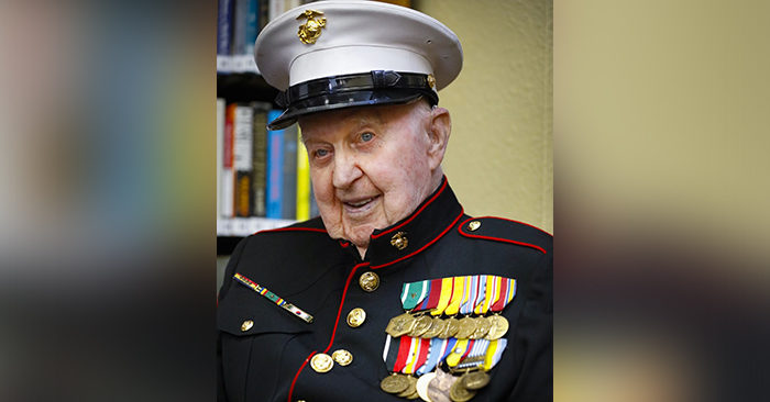 Veteran's historic life, who fought at Iwo Jima, Chosin Reservoir turns 100