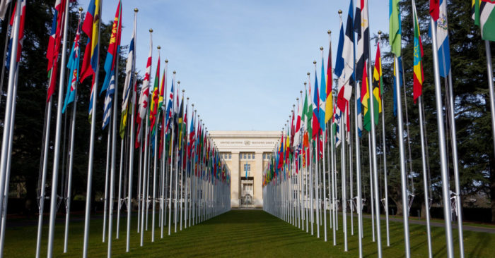 United Nations Office at Geneva. (Image Falcon Photography via Flickr)