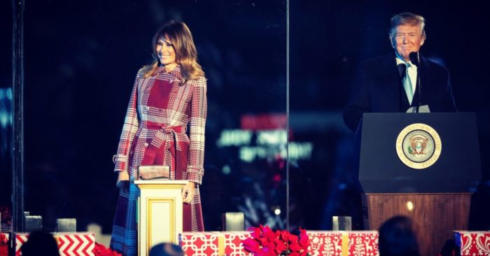 President Trump And First Lady Grace