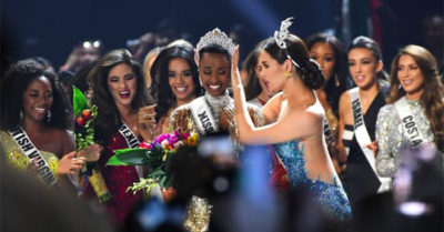 South Africa wins Miss Universe with talk of leadership for women