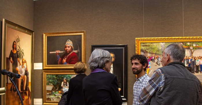 International figure painting competition restores traditional aesthetics