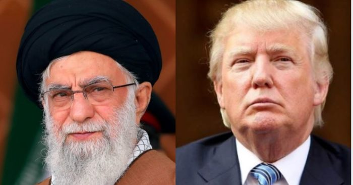 Iranian leader Ali Khamenei (Archive image/khamenei.ir) and US President Donald Trump (Flickr)
