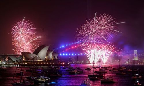 Happy New Year World Welcomes 2020 With Spectacular Fireworks