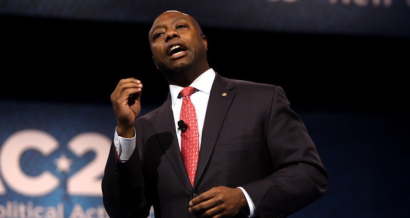 African-American vote would guarantee Trump's re-election, projects senator Tim Scott