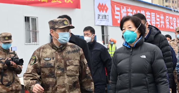 The Chinese regime would try to mask the story about the coronavirus