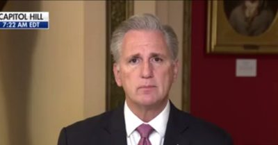 House Minority Leader Kevin McCarthy disagrees with Rep. Marjorie Taylor Greene's impeachment articles against President Biden