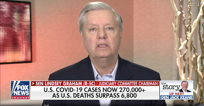Sen. Lindsey Graham calls on China to close its wet markets: 'We need to stop that. It's the 21st century'