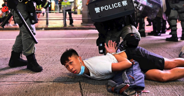 House passes Chinese regime santions bill in response to repressive Hong Kong law
