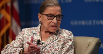 'The president has the authority to appoint Supreme Court appointees,' Justice Ginsburg said in 2016