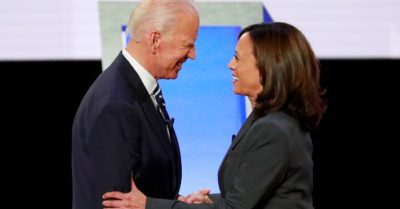 Kamala Harris not a 'fearless fighter for the little guy' say sex abuse victims, after her failure to prosecute any accused priests